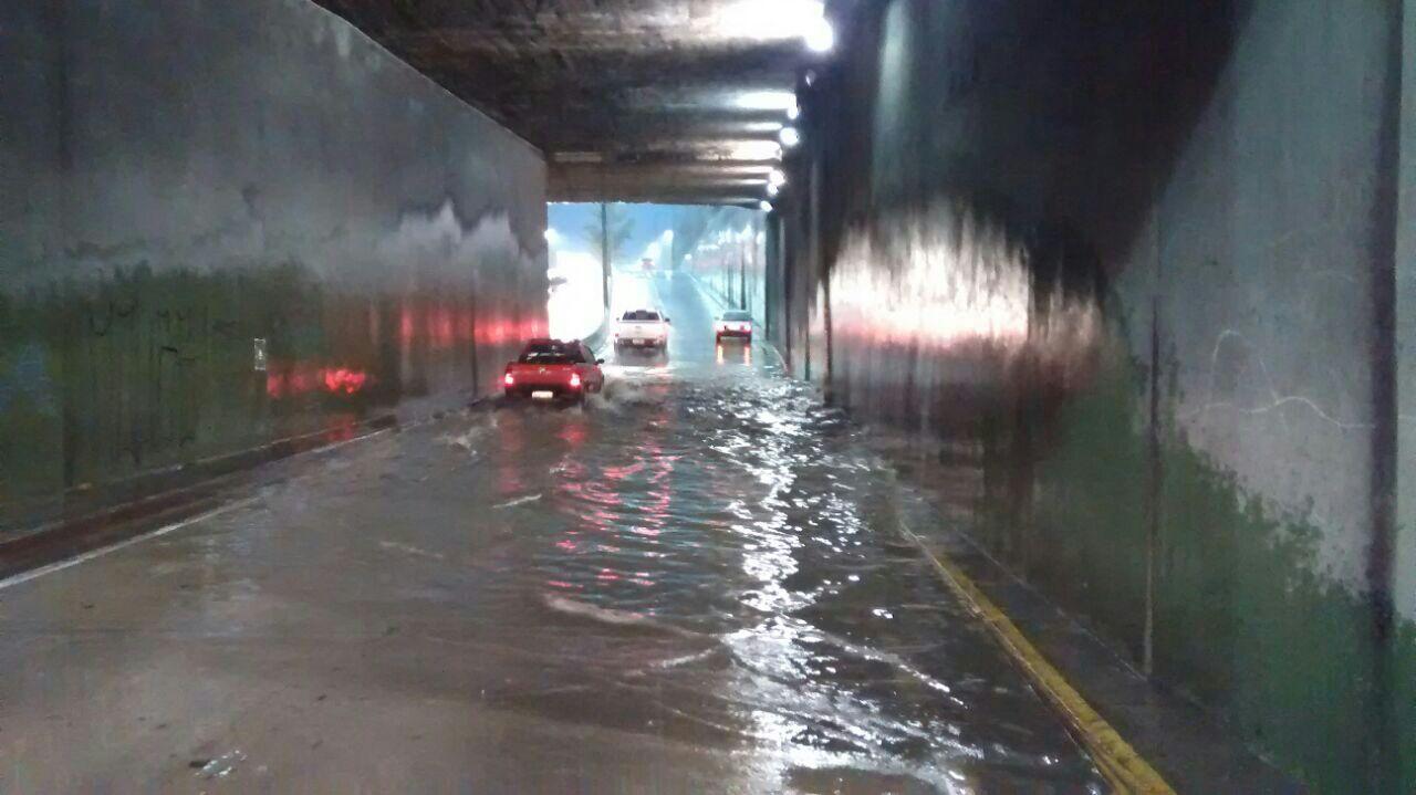 Inmet registra dia mais chuvoso do ano nesta quarta-feira (05) - Imagem via Whatsapp