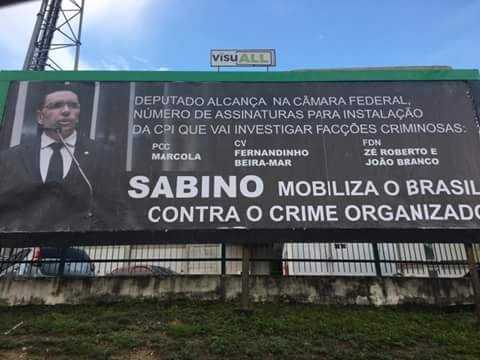 Deputado Federal Sabino Castelo Branco (PTB)