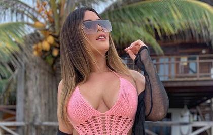 Geisy Arruda voltou a sensualizar em suas redes sociais (Foto: Reprodução)