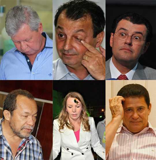 políticos amazonenses citados na lista de investigação do STF ? Artur Neto (PSDB), Omar Aziz (PSD), Eduardo Braga (PMDB), Eron Bezerra (PC do B), Vanessa Grazziotin (PC do B) , Alfredo Nascimento (PR)