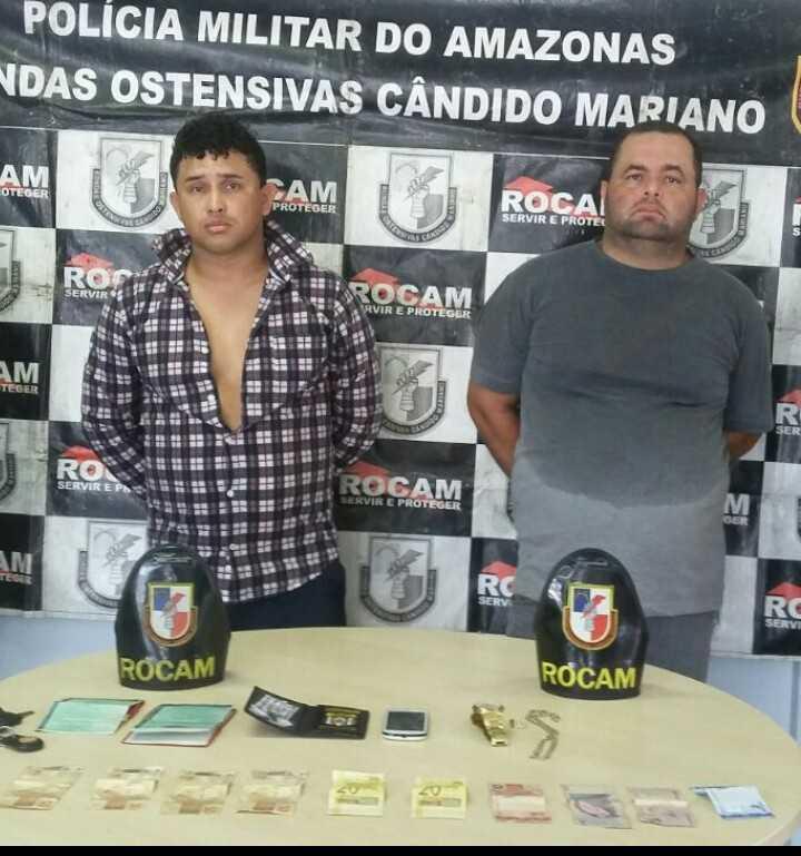 Falsos policiais são presos acusados de extorsão em Manaus - Imagem: Grupo Notícias do Amazonas