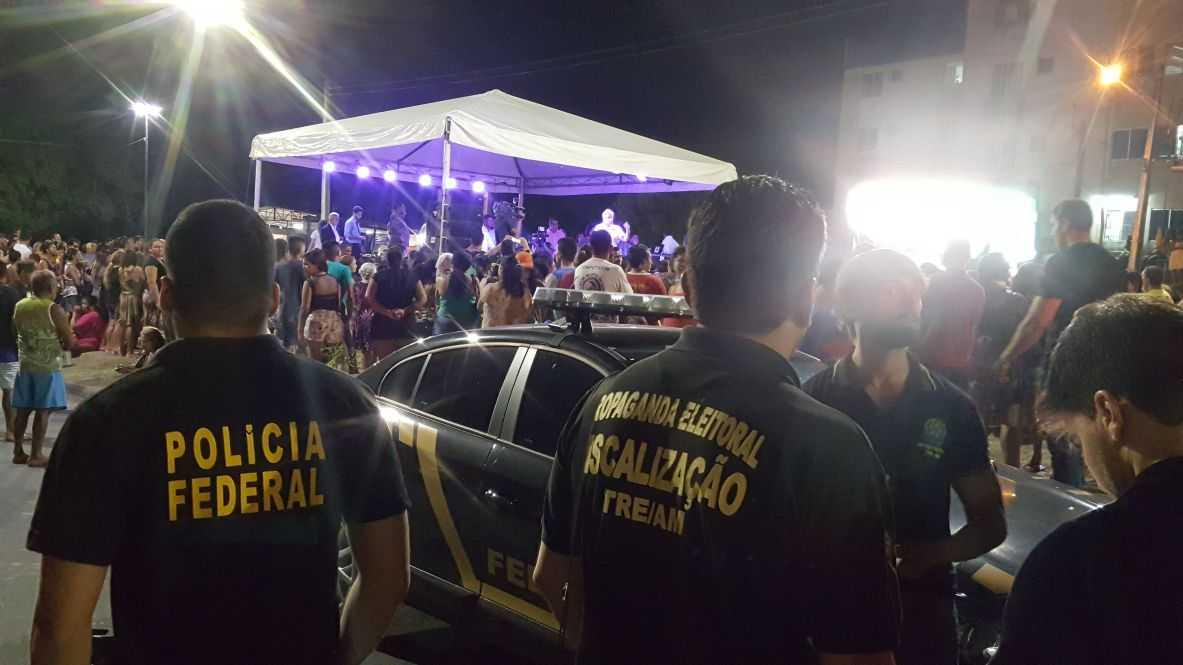 Arthur cancela evento monitorado pelo TRE-AM, MPE e PF / Divulgação
