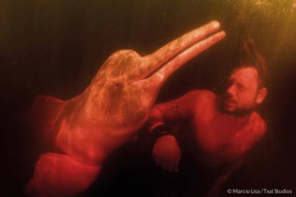 Richard Rasmussen em cena exibida pelo 'Fantástico' (Reprodução/Divulgação)