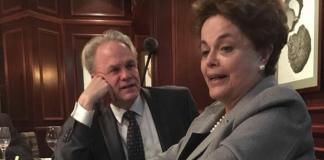 James N Green olhado apaixonado para a Dilma Rousseff / Divulgação