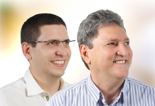 Prefeito eleito de Presidente Figueiredo, Romeiro Mendonça, bem como de seu vice Mário Abrahão / Divulgação