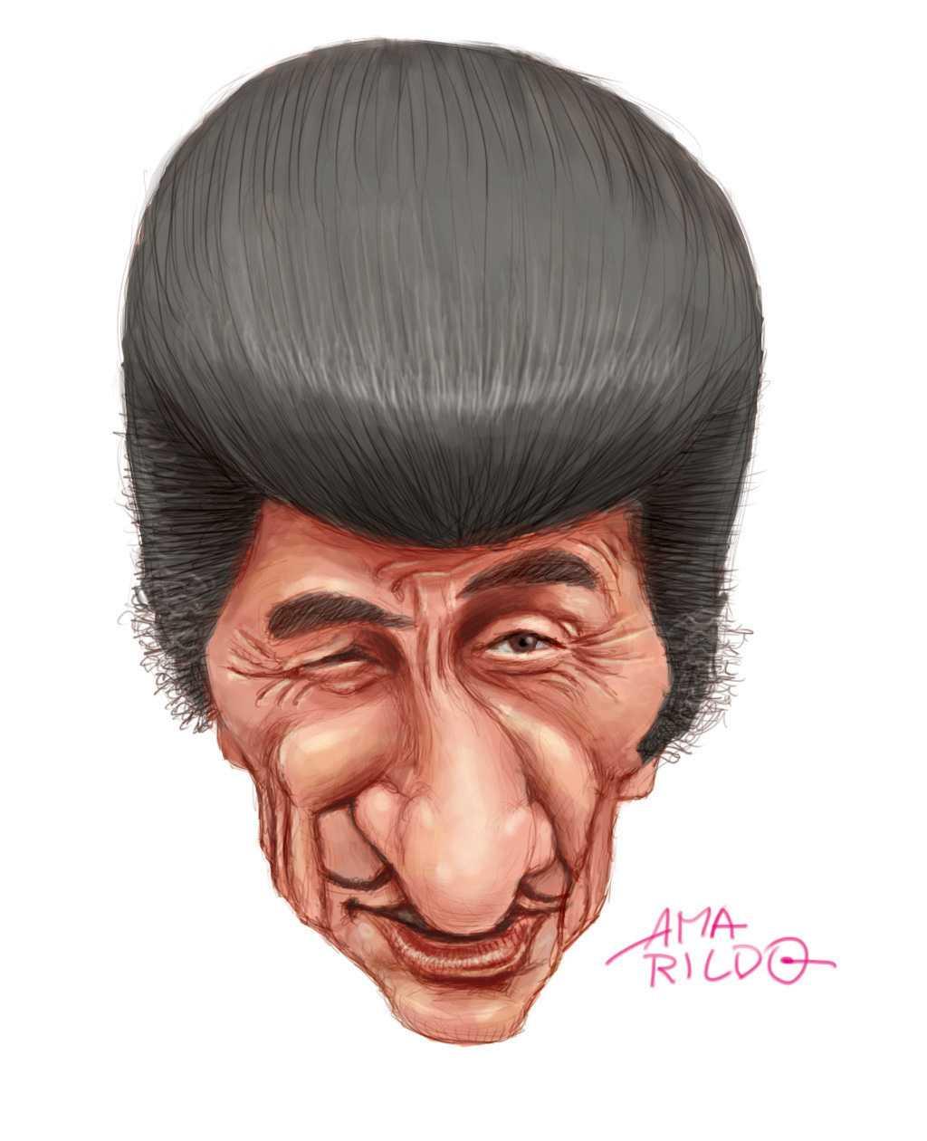 Zé Bonitinho – Caricatura – Amarildo