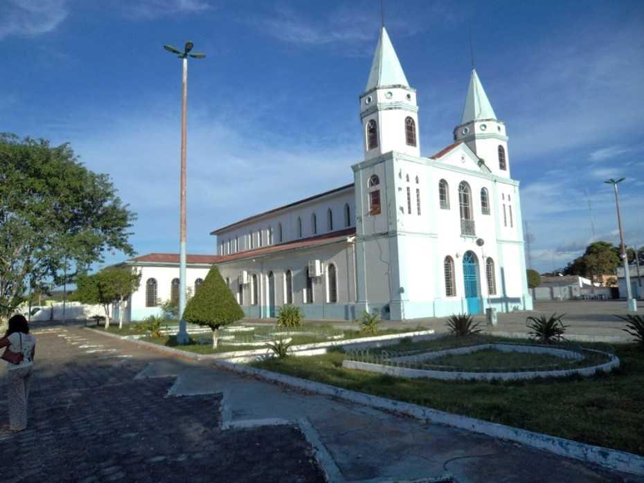 Igreja Nossa Senhora das Dores na cidade de Manicoré no estado do Amazonas.