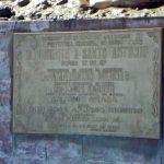 Placa do Monumento a Santo Antônio