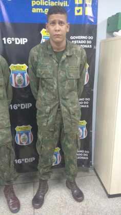 Antônio César Souza da Silva Junior, 22 anos / Foto Divulgação Whatsapp