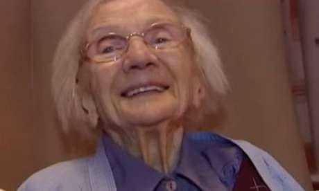 A escocesa Jessie Gallan, de 109 anos / Reprodução