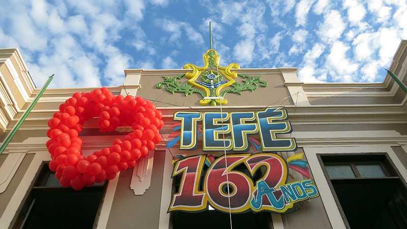 Novo Prédio Restaurado da Prefeitura Municipal de Tefé / Foto : Marcus Pessoa / No Amazonas é Assim
