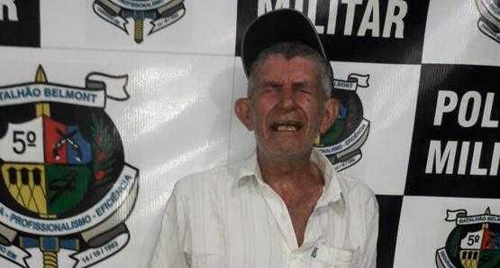 Idoso de 69 anos foi preso acusado de estuprar a própria neta, de apenas 3 anos de idade / Divulgação