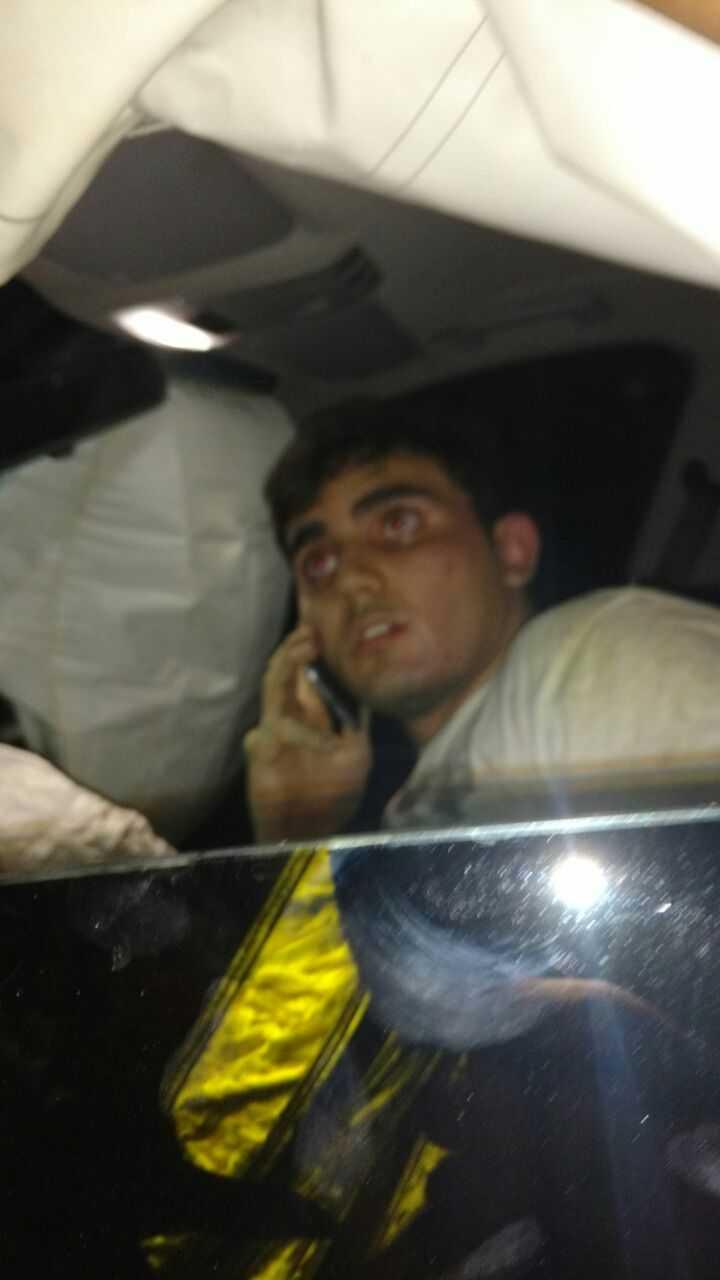 Gabriel Ale Alencar pagou fiança de R$ 10 mil e foi liberado após atropelar e matar com sua BMW a vítima na av. Constantino Nery- Imagem de divulgação