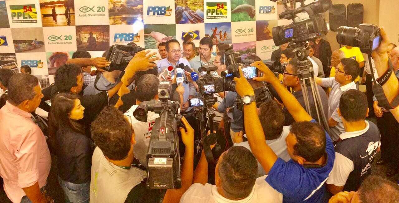 Partidos anunciam apoio à pré-candidatura de Silas Câmara ao governo do Amazonas - Imagem de divulgação