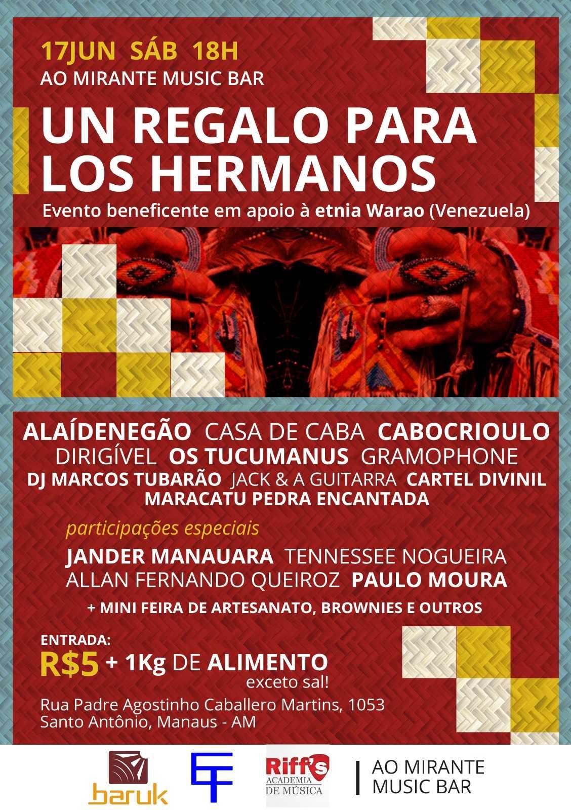 Un Regalo para Los Hermanos une Música e Solidariedade em Manaus