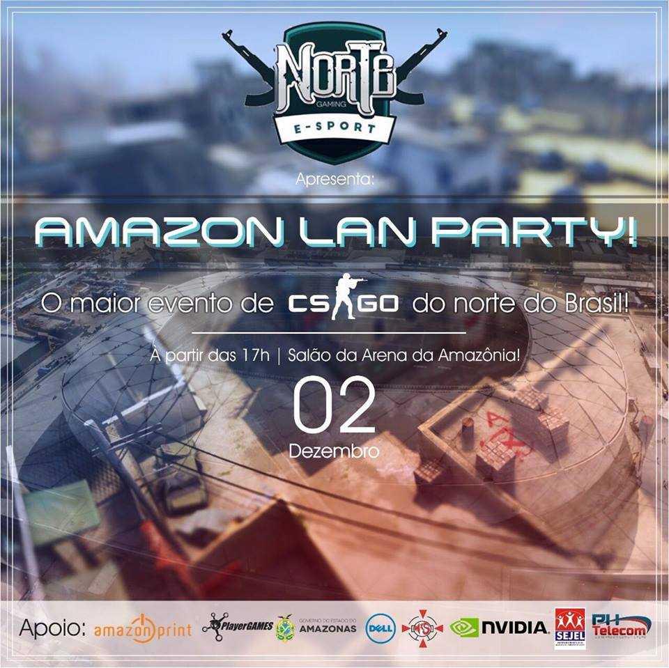 Amazon Lan party.