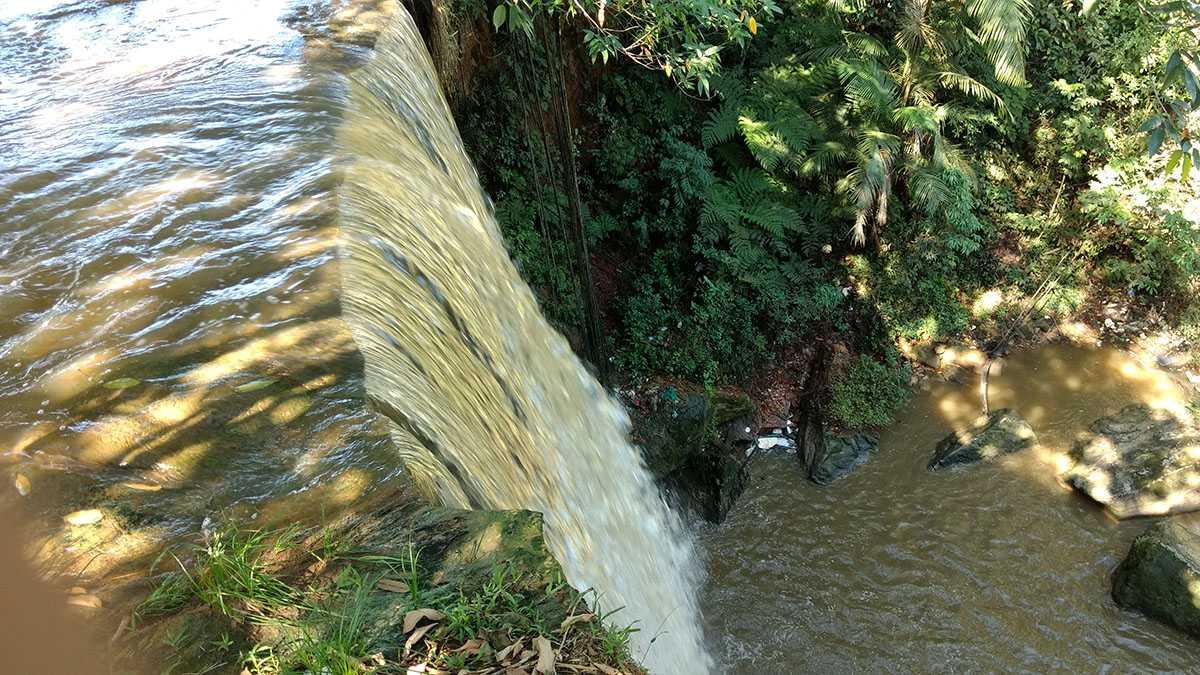 Cachoeira Alta do Tarumã em 16/07/2017 / Foto : Marcus Pessoa - No Amazonas é Assim