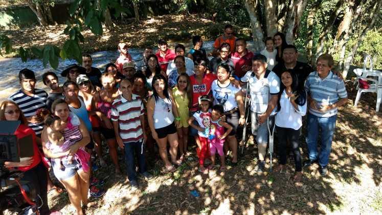 Cachoeira Alta do Tarumã / Foto : No Amazonas é Assim