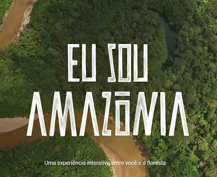 São 11 histórias contadas: 'Eu sou Água', 'Eu sou Mudança', 'Eu sou Alimento, 'Eu sou Raiz', 'Eu sou novação', 'Eu sou Liberdade', 'Eu sou Resistência', 'Eu sou Resiliência', 'Eu sou Aventura', 'Eu sou Conhecimento' e 'Terras Indígenas'. - Imagem: Reprodução/Google Earth