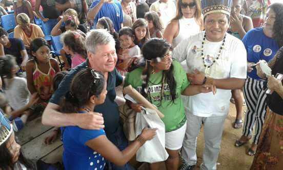 Artur Neto no Parque das Tribos / Reprodução Facebook