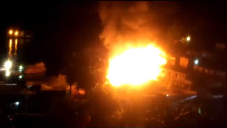 Casas são atingidas por incêndio de grandes na Compensa - Imagem de divulgação
