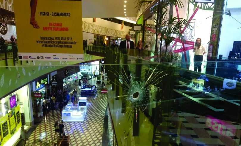 Tiroteio aconteceu na noite desta quarta-feira (Foto: Cesar Ribeiro/Divulgação)