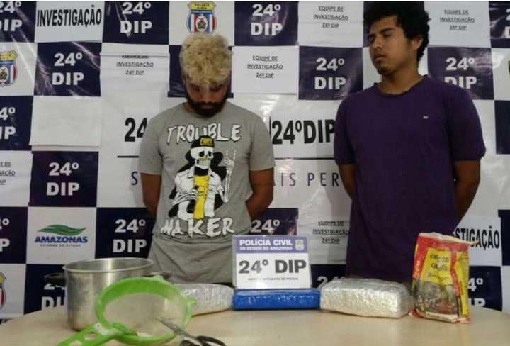 Caio Mafra, 20, e Kid da Silva, 21 / Divulgação
