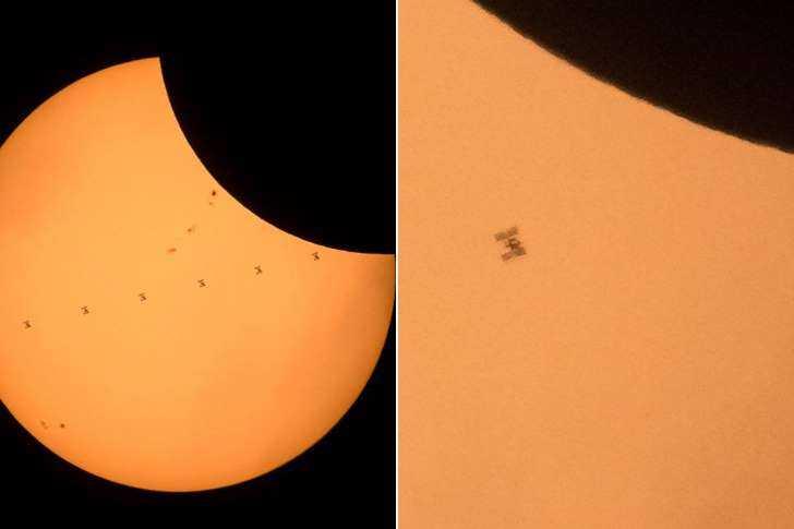 Eclipse solar 21 de agosto de 2017– Imagem: NASA