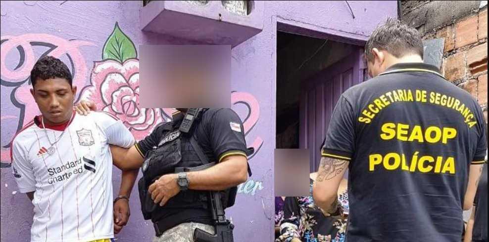 Levi Rodrigues Pinto, 20, foi capturado, na manhã desta quarta-feira (30) - Imagem: via Whatsapp