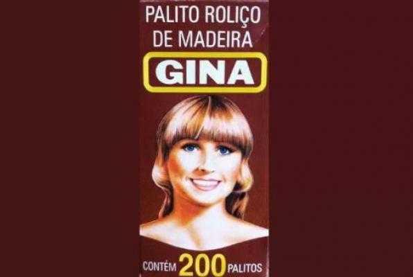 Palito Roliço de Madeira - Gina