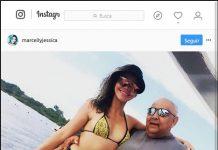 marcellyjessicaJá que ninguém tem coragem de postar fotos com o dono da lancha, pos eu tenho...???????????????????? / Reprodução Instagram