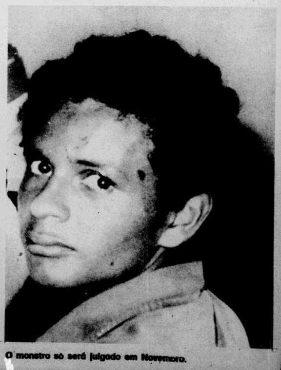 """Wallace Barreto de Oliveira, de 19 anos, que depois do crime passou a ser chamado de """"Monstro da Colina"""". / Divulgação"""