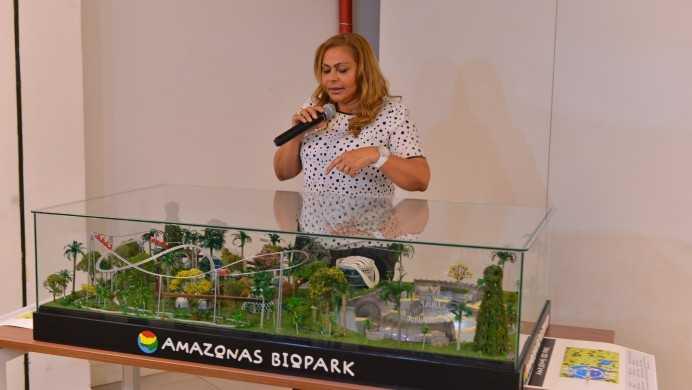 Amazonastur apresenta maquete do projeto Amazonas Biopark / Divulgação