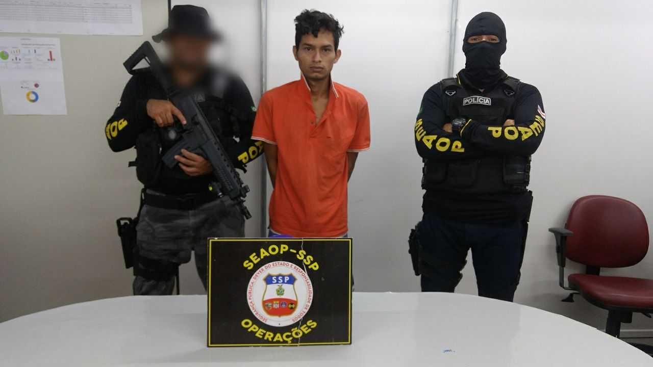 """Polícia prende """"Sorriso"""" por suspeita de participação na morte do soldado Portilho- Imagem: Divulgação/PM"""