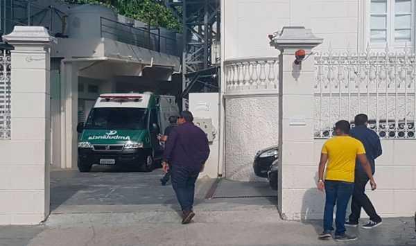 Sabino Castelo Branco foi transferido da Samel para o hospital Sírio Libanês / Divulgação