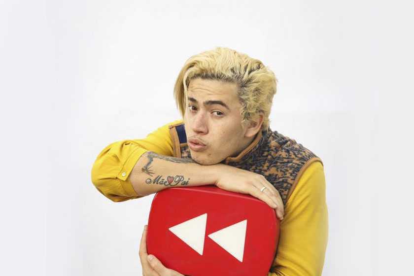 Whindersson já é o 20º maior youtuber do mundo