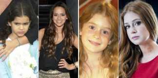De meninas a mulherões : Antes e Depois