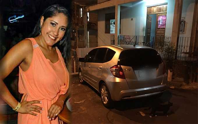 Carolina foi deixada no bairro Coroado, com o carro, por volta das 21h. / Foto Divulgação