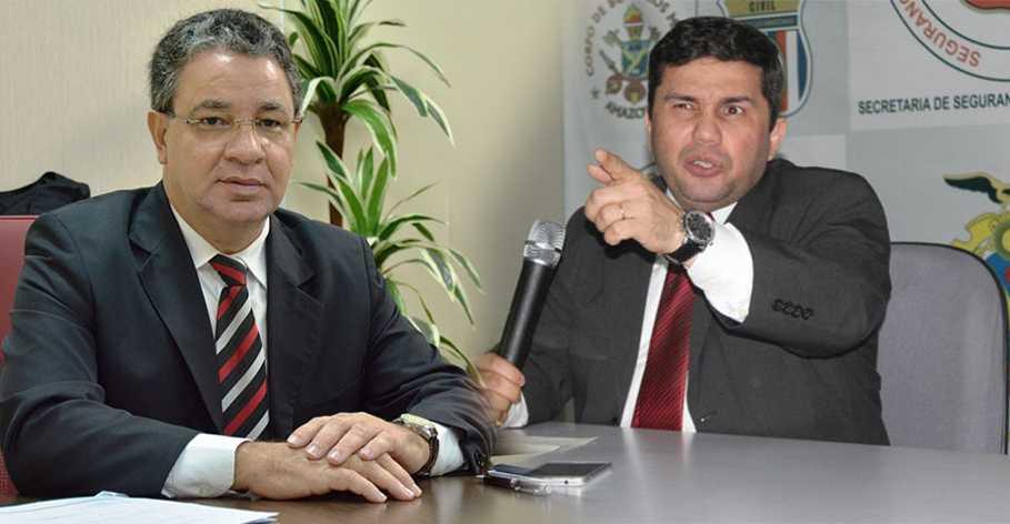 Após eleição, Sérgio Fontes pede pra sair e Carlos Alberto Andrade assume Secretaria de Segurança Pública