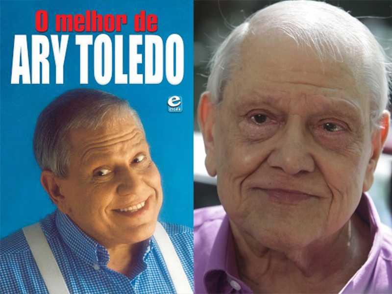 Ary Toledo não consegue mais andar e internado tem infecção generalizada / Divulgação