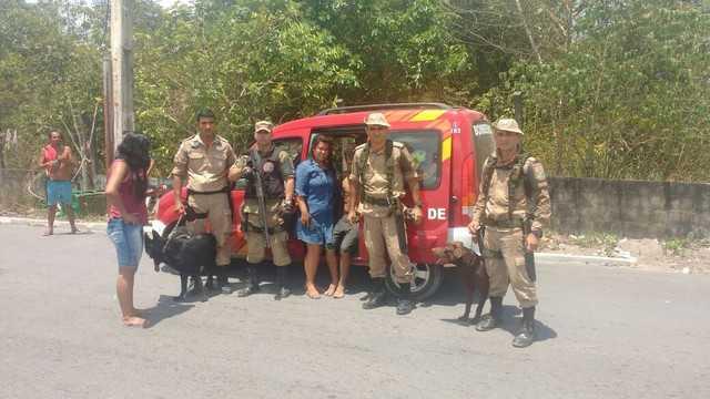 Corpo de Bombeiros encontra jovem autista que desapareceu na Zona Norte de Manaus - Imagem: Divulgação/Corpo de Bombeiros