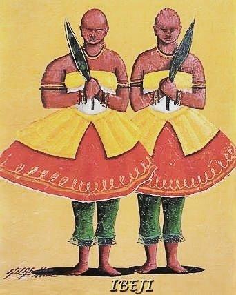 bêji é formado por duas entidades distintas e indica a contradição, os opostos que coexistem. Por ser criança, é associado a tudo que se inicia: a nascente de um rio, o germinar das plantas, o nascimento de um ser humano.