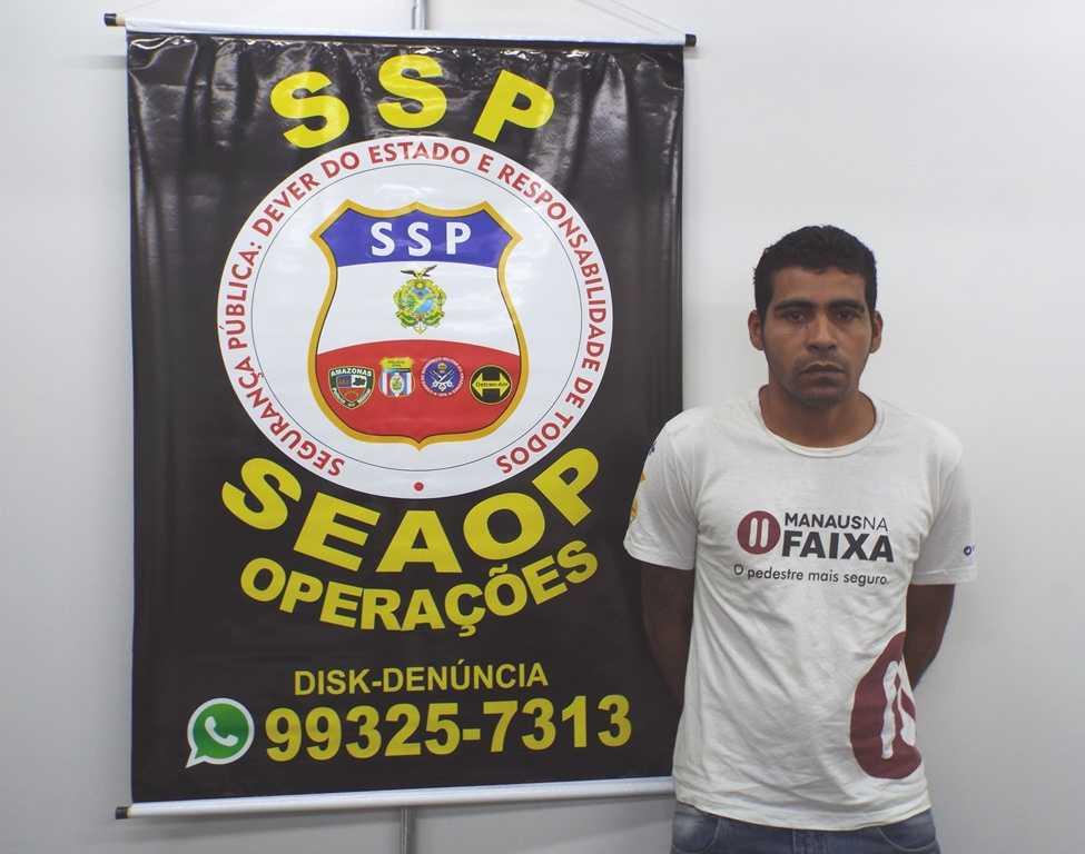 Fábio Ângelo Moreira da Silva, 35, foragido do regime semiaberto do Complexo Penitenciário Anísio Jobim (Compaj)- Imagem: Divulgação