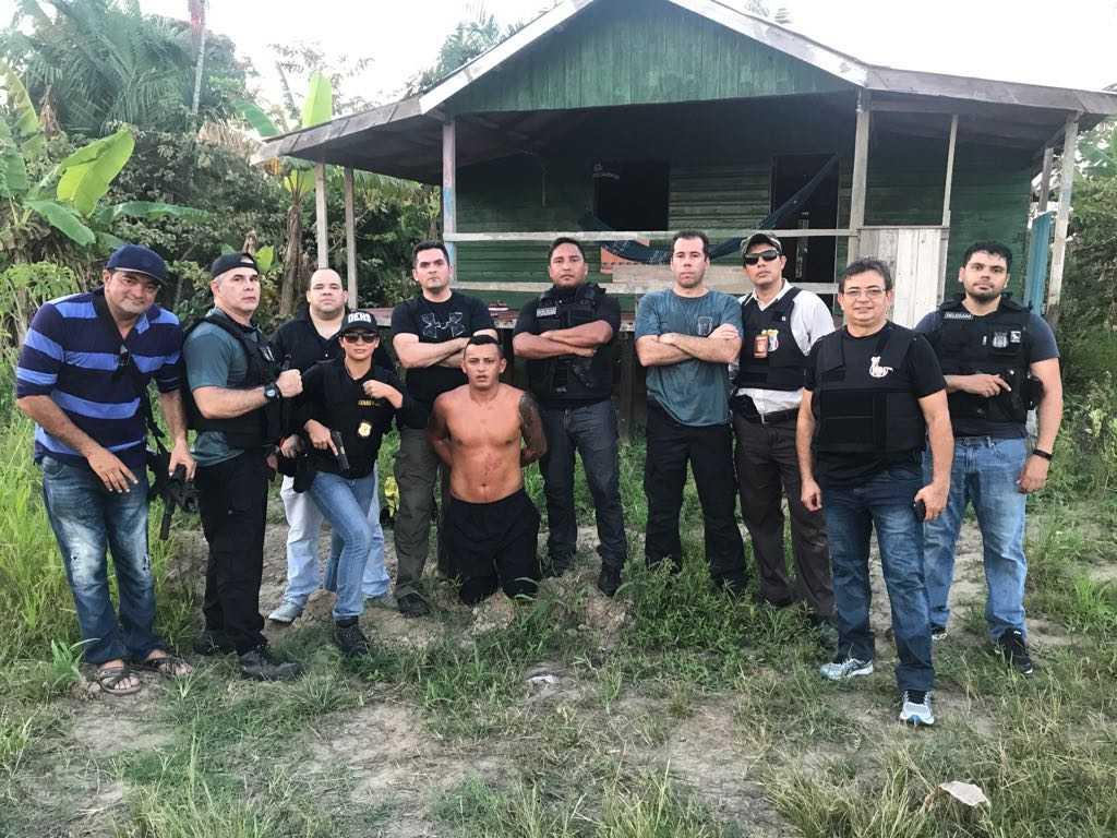 Polícia prende suspeito de assassinar cabelereiro dentro de salão em Manaus- Imagem: Divulgação da Polícia