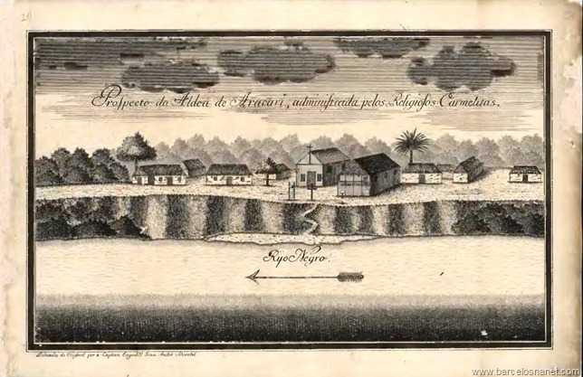 O mesmo Lugar do Carvoeiro, em outro tempo Aldeia de Aracari feito por outro Artista.