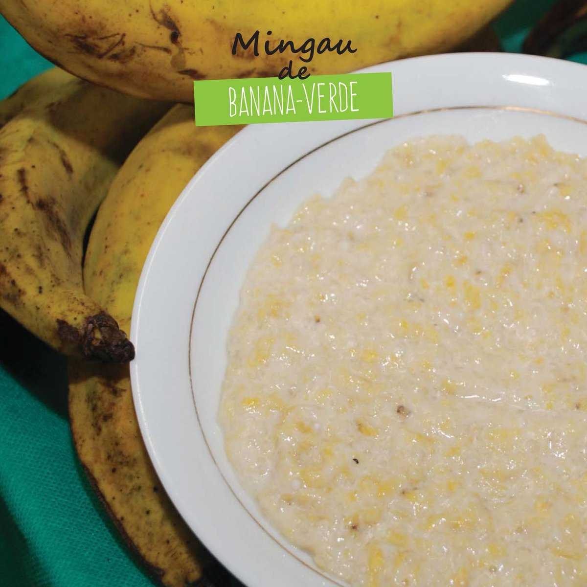 Receita de Mingau de Banana Pacova Verde - Imagem: Divulgação