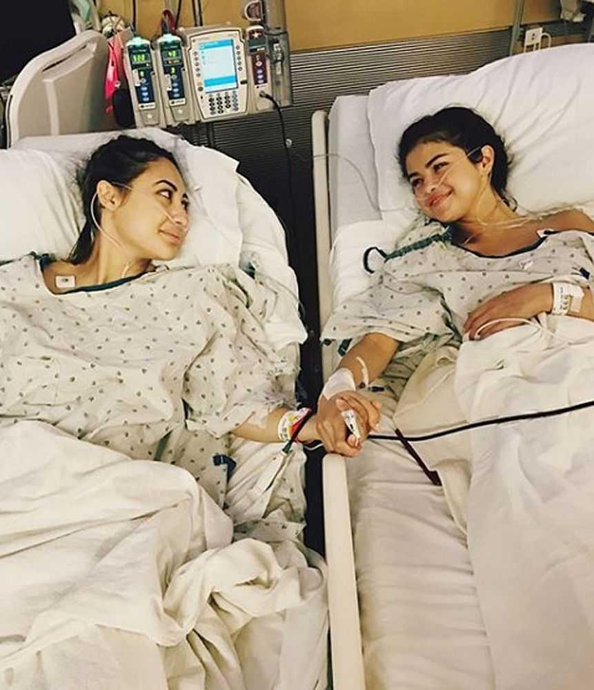 Selena Gomez faz transplante de rim e amiga fez a doação - Imagem: Instagram