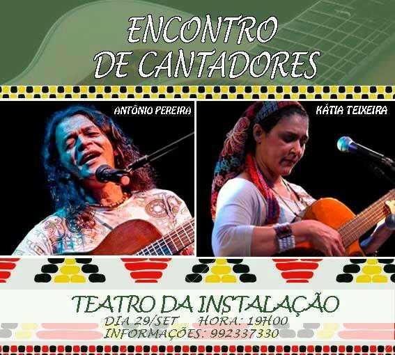 Encontro de Cantadores anima Teatro da Instalação / Divulgação