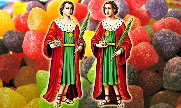 Festa dos doces em dia de santo: a tradição de São Cosme e Damião / Divulgação