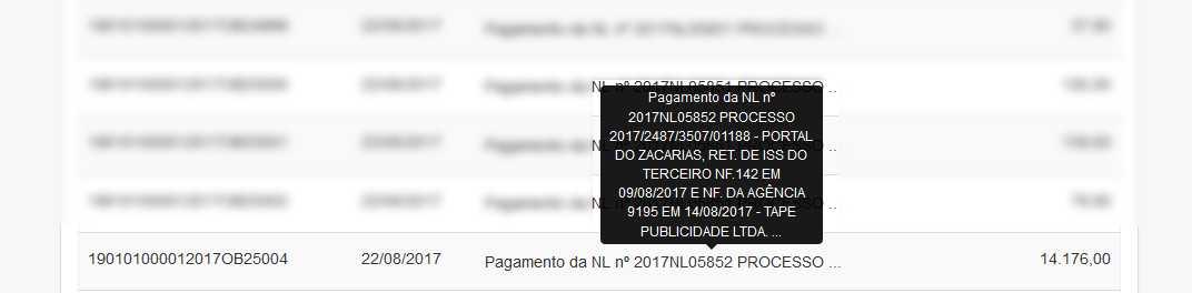 quanto o portal do Zacarias ganha da Prefeitura de Manaus / Reprodução Portal da Transparência